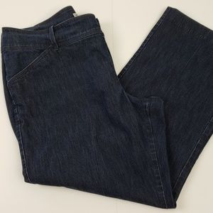 Lee Jeans size 16P Dark Wash Stretch Natural Fit